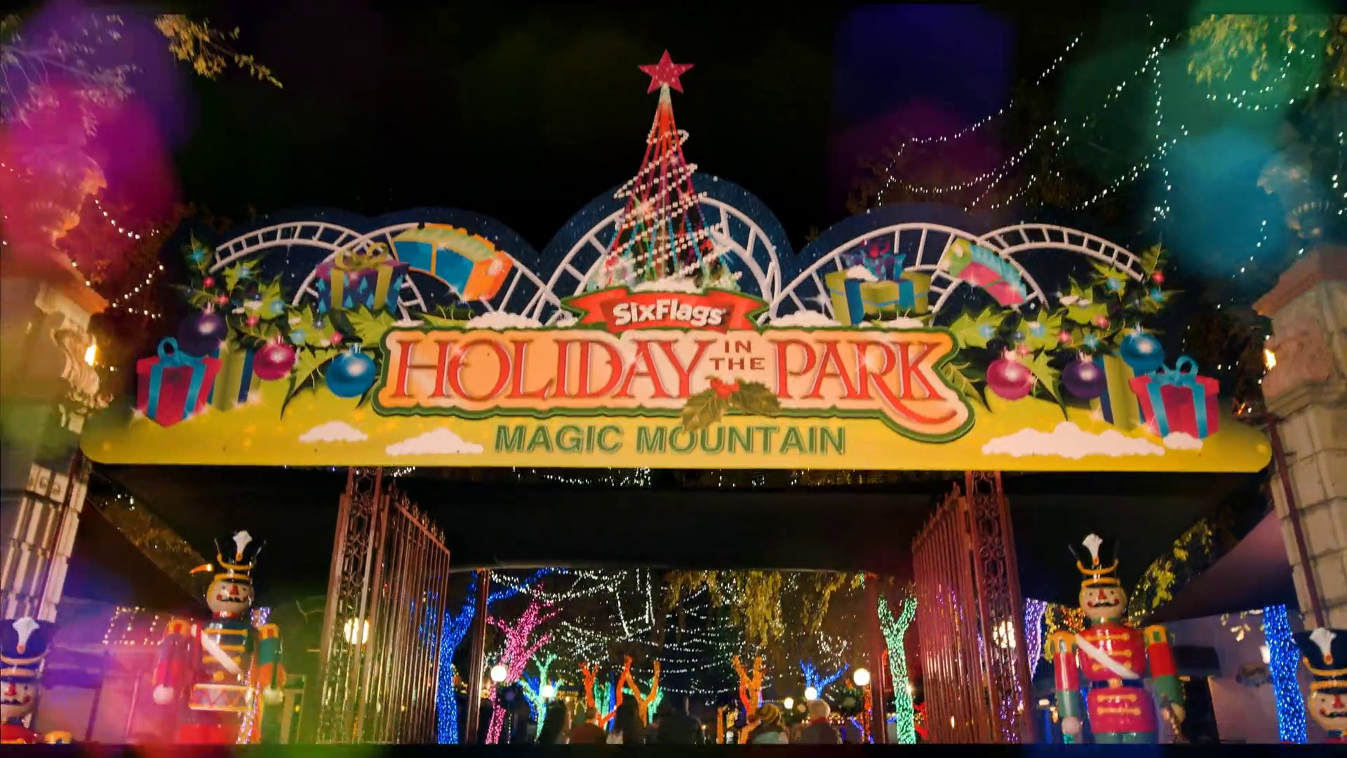 holiday in the park at six flags magic mountain
