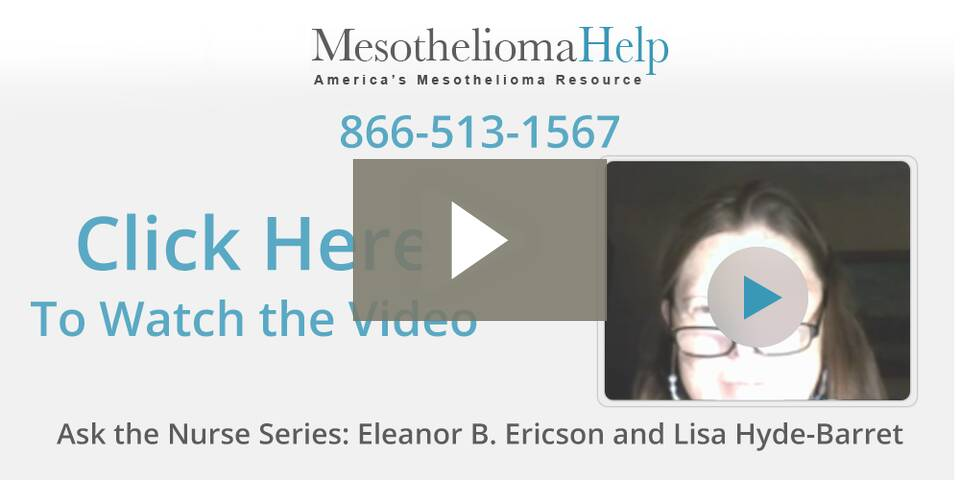 mesotheliomahelp faqs Ask the Nurse Series - Eleanor Ericson