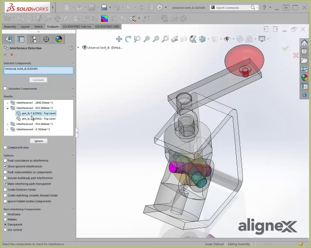 Wistia video thumbnail - The Interference Detection Tool in SOLIDWORKS