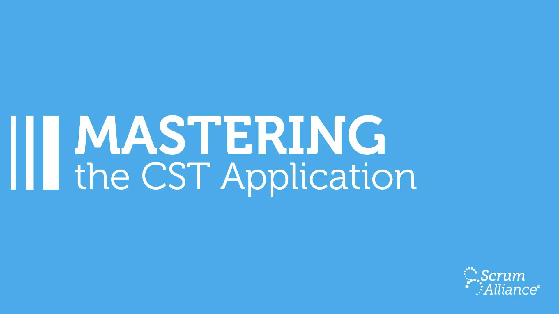 Certified Scrum Trainer Cst Certification Application Process