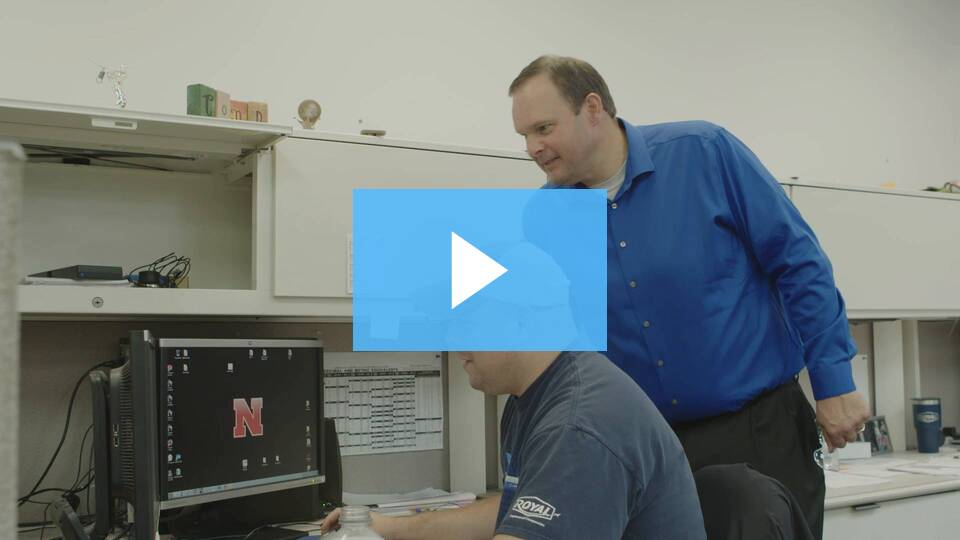 Nebraska career cluster Manufacturing virtual tour Royal