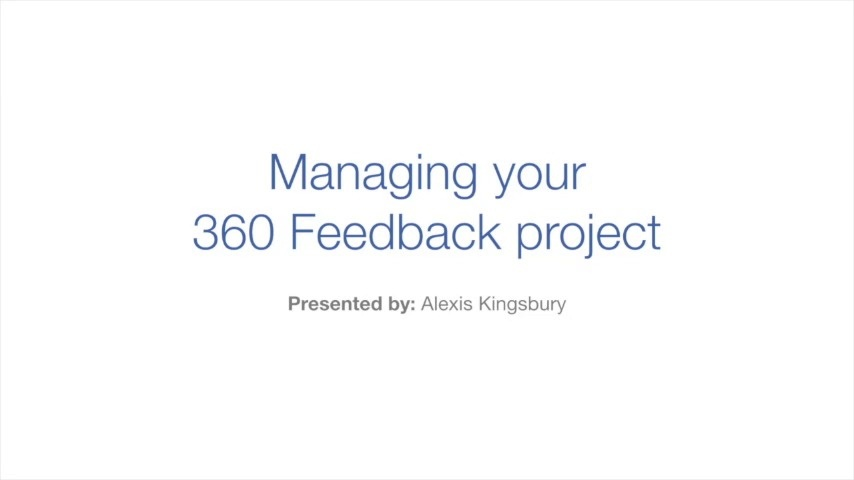 Wistia video thumbnail - 5. Managing your 360 Feedback project