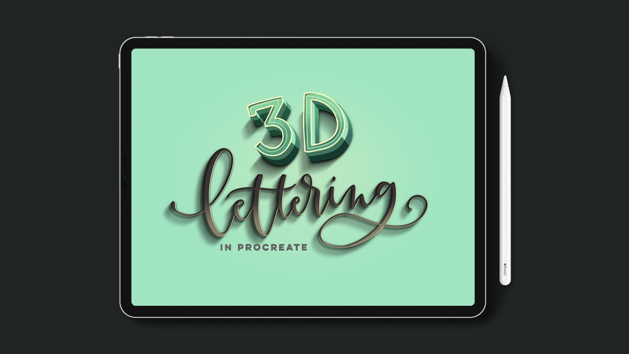 2:58. EveryTuesday 3d Lettering ...