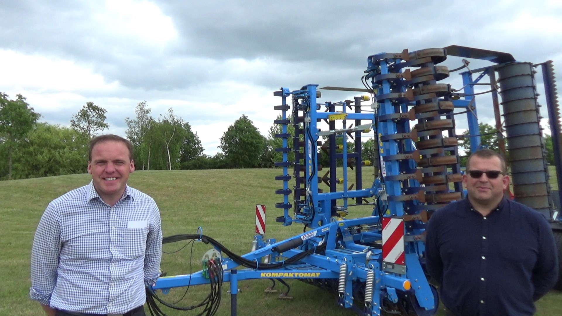 Brock & Farmet Machinery from J Brock & Sons - Cereals Live 2020