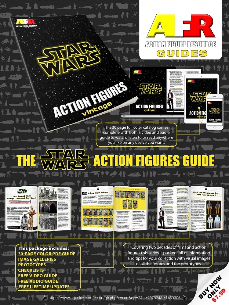 Vintage Star Wars Action Figure Guide