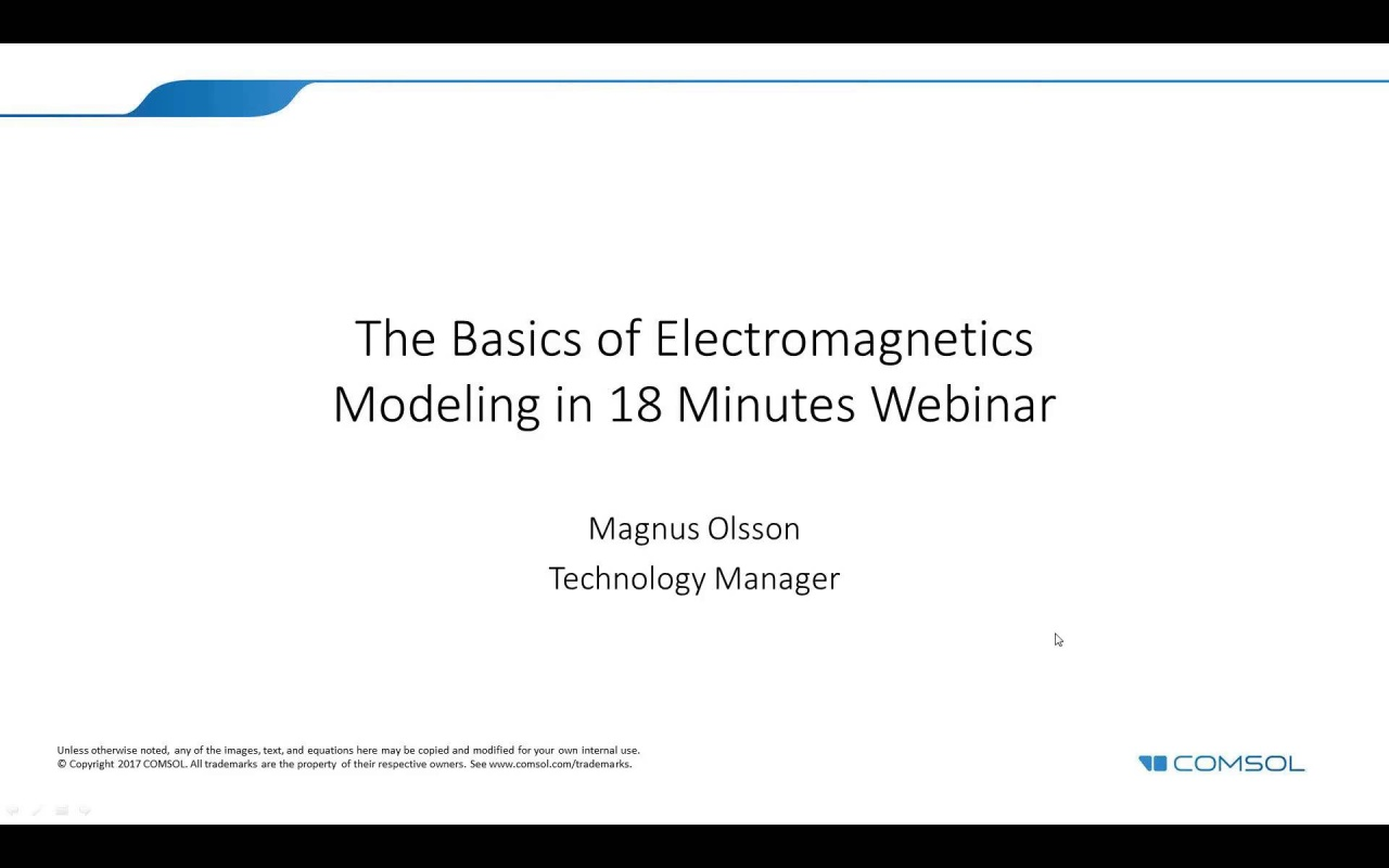 Intro To Electromagnetics Modeling With Comsol Multiphysics Electromagnetic Relay Equation