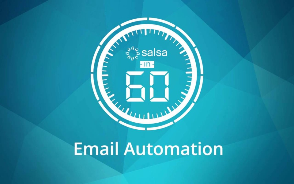 Wistia video thumbnail - Email Automation in Salsa Engage