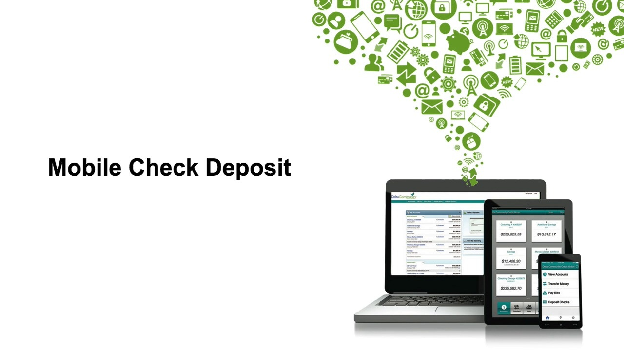 mobile check deposit - delta community credit union