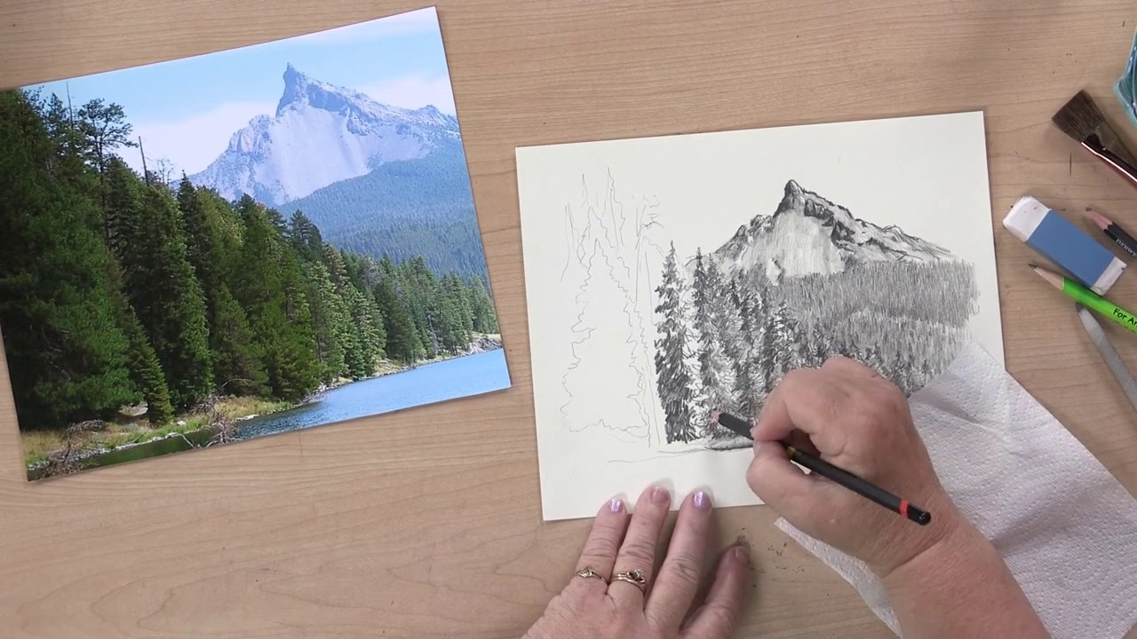 6 Ways To Spruce Up Your Landscape Pencil Drawings Artists Network