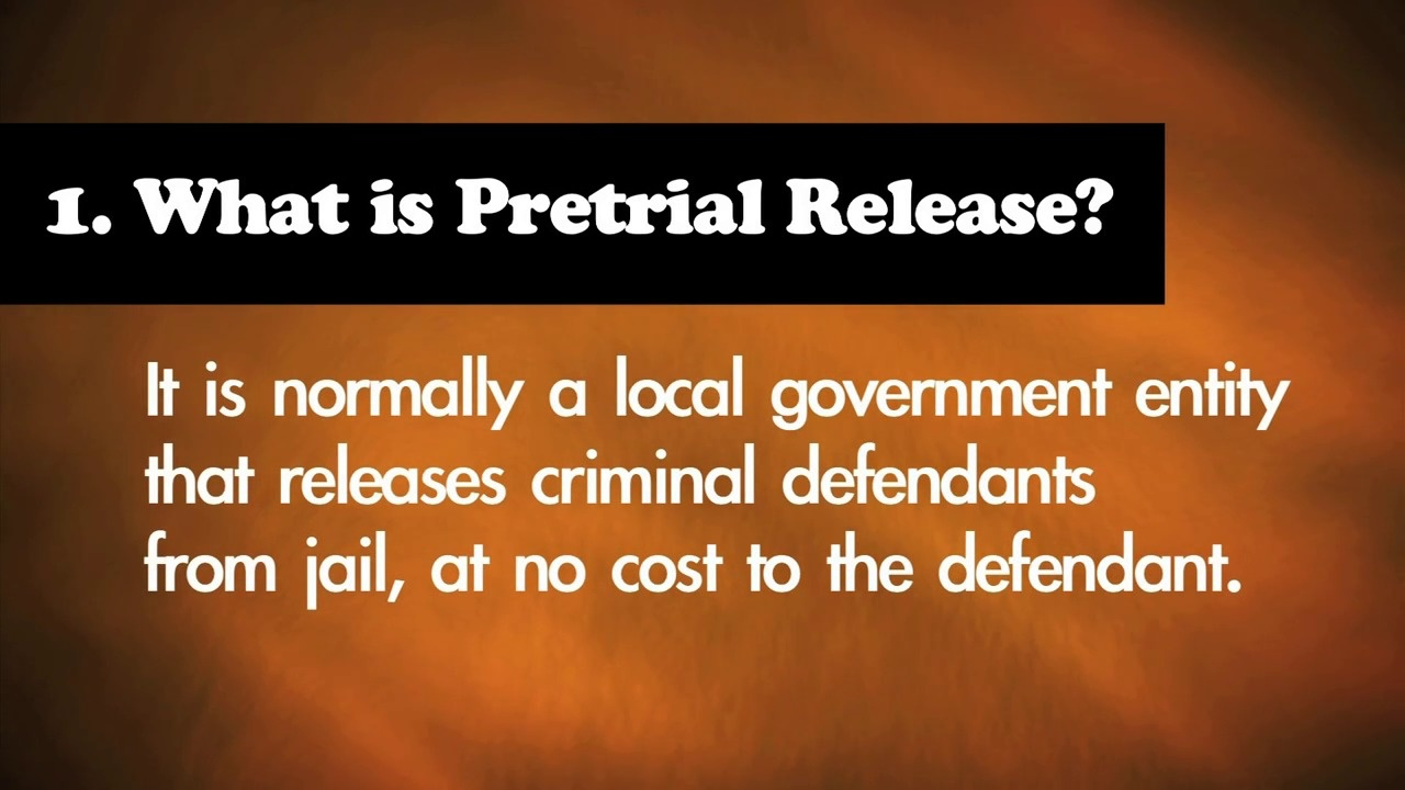 9 Truths About Pre-Trial Release