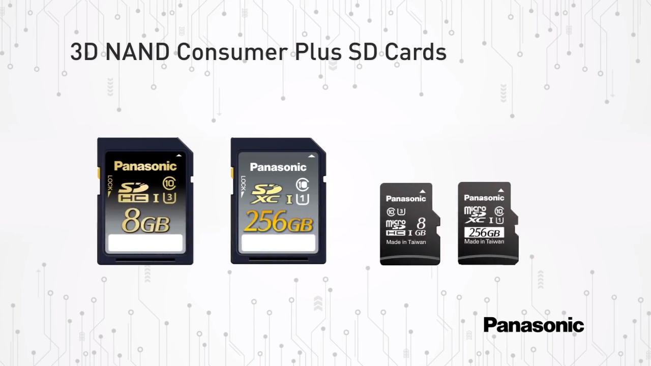 Quick Clips: Consumer Plus 3D NAND SD Cards