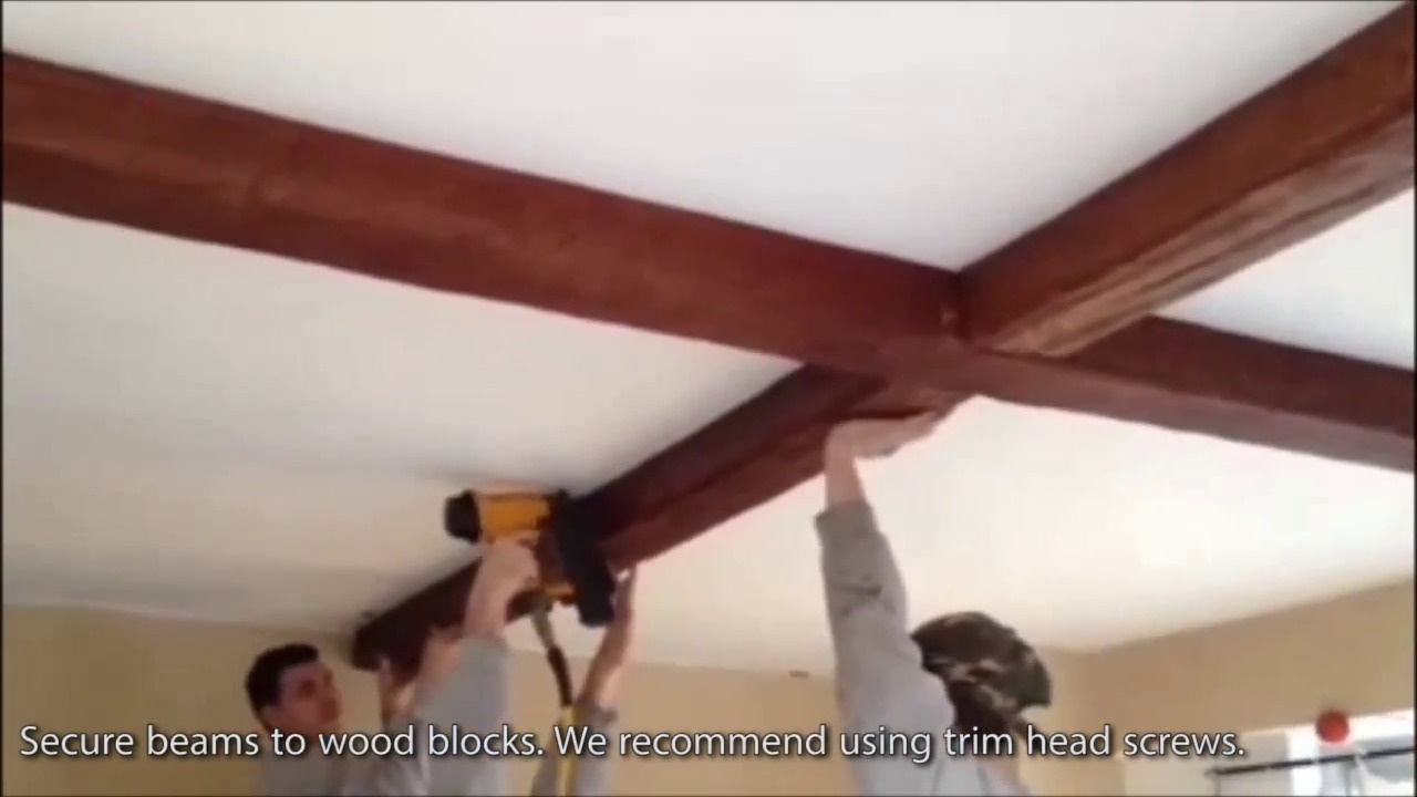 How To Hang A Ceiling Fan From Beam Shelly Lighting