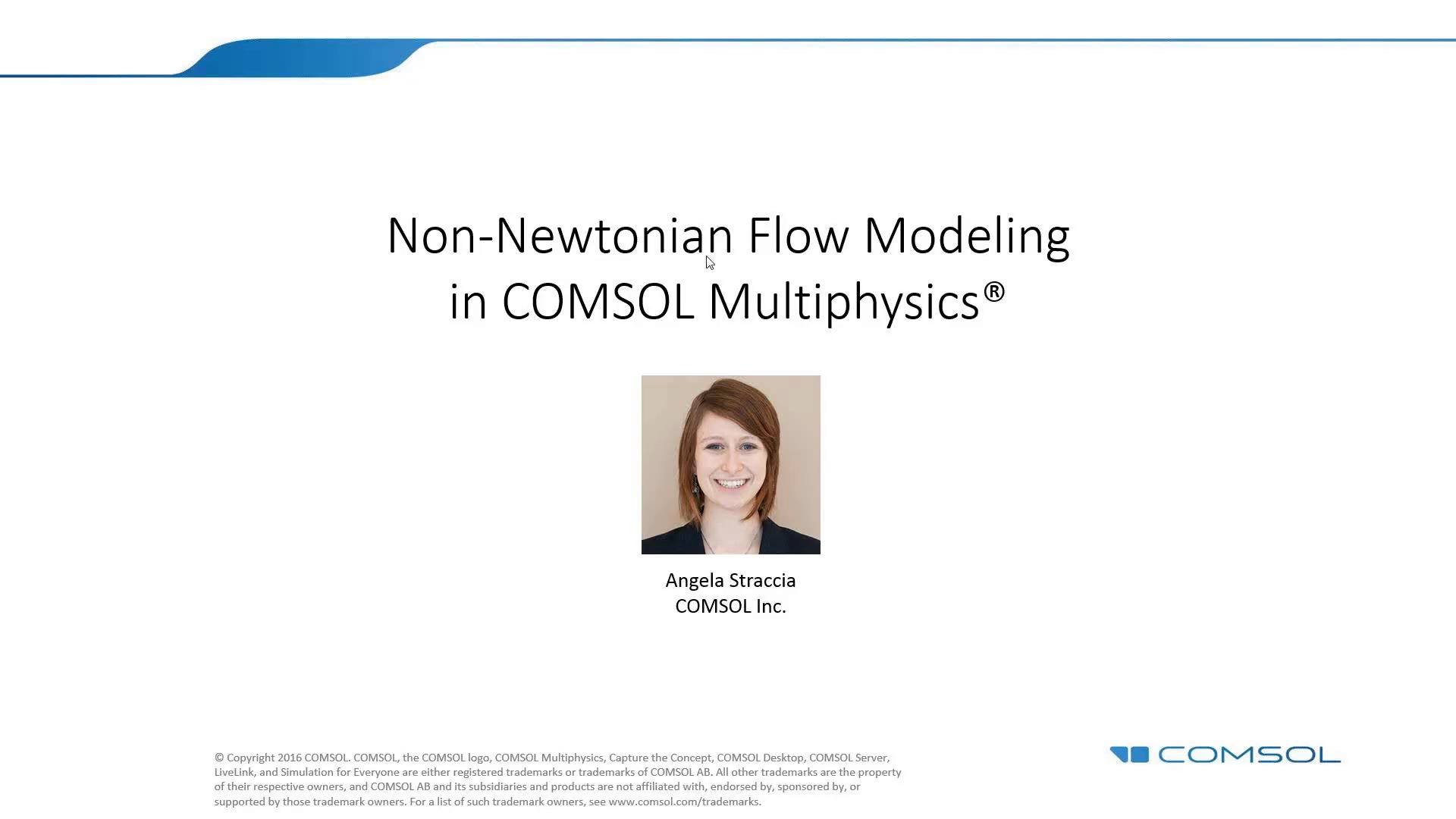 Modeling Non Newtonian Flow In Comsol Multiphysics