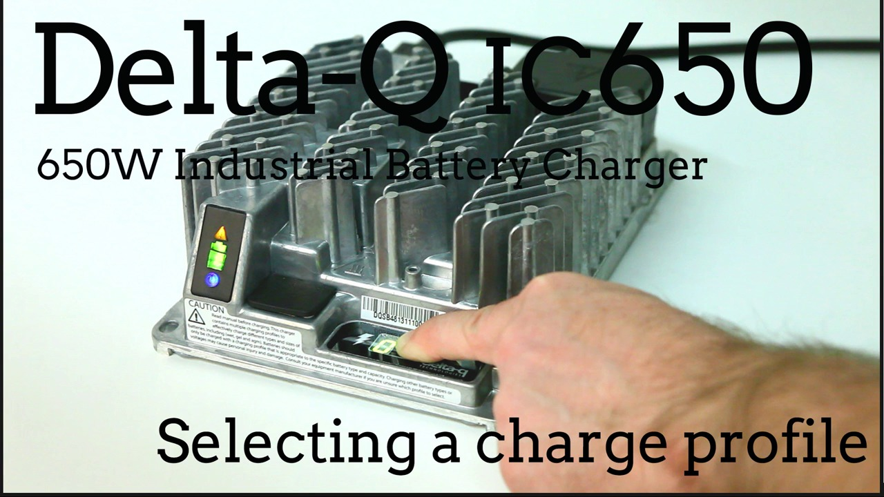 Ic650 Industrial Battery Charger Delta.Delta Q 48v Golf Cart ... on
