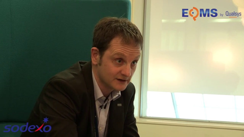 Wistia video thumbnail - Review of EQMS by Qualsys- Rob Gibson at Sodexo