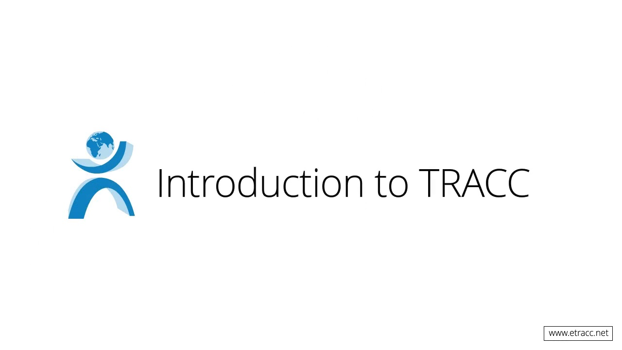 High Level Overview of TRACC - Introduction to TRACC