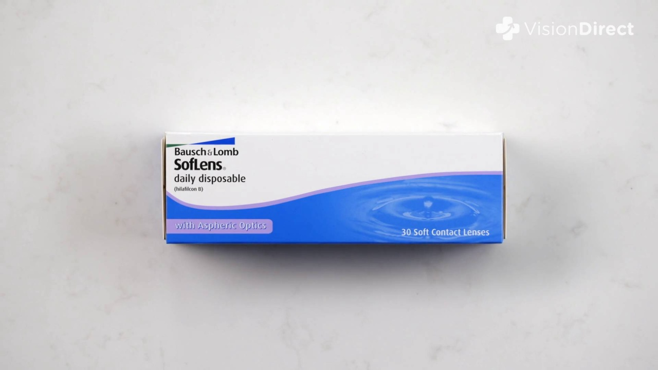bf5e725442 SofLens Daily Disposable SofLens Daily Disposable. Video Thumbnail. Video  Thumbnail