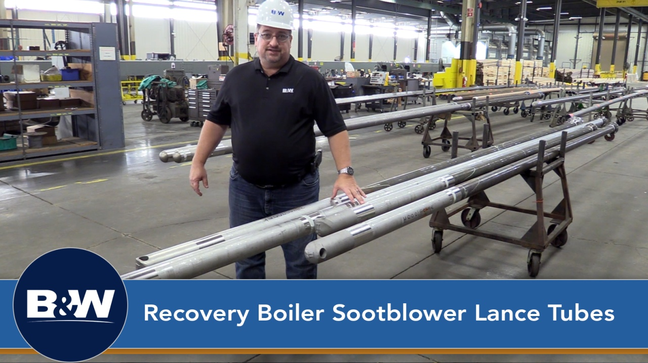 Recovery Boiler Sootblower Lance Tubes