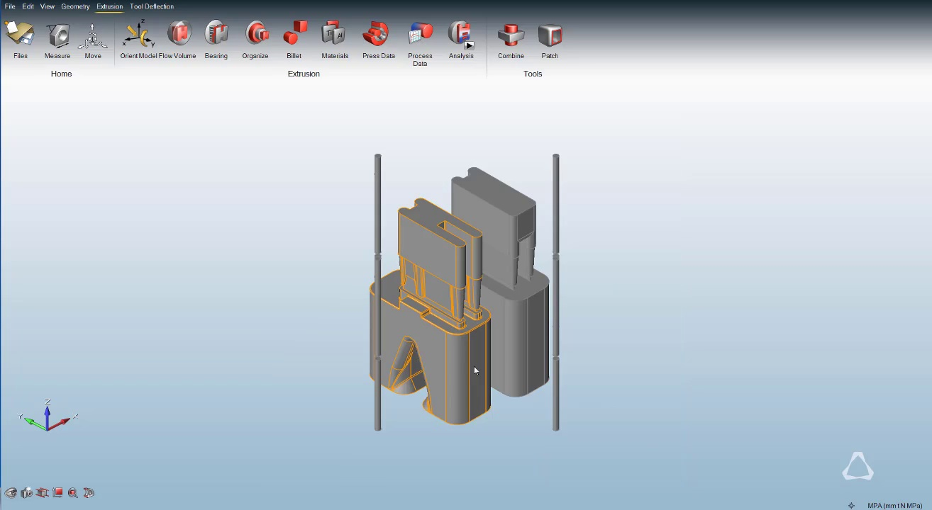 Click2extrude Metal Extrusion Simulation Software Youtubeare Renger Condictioner Wiring Diagram