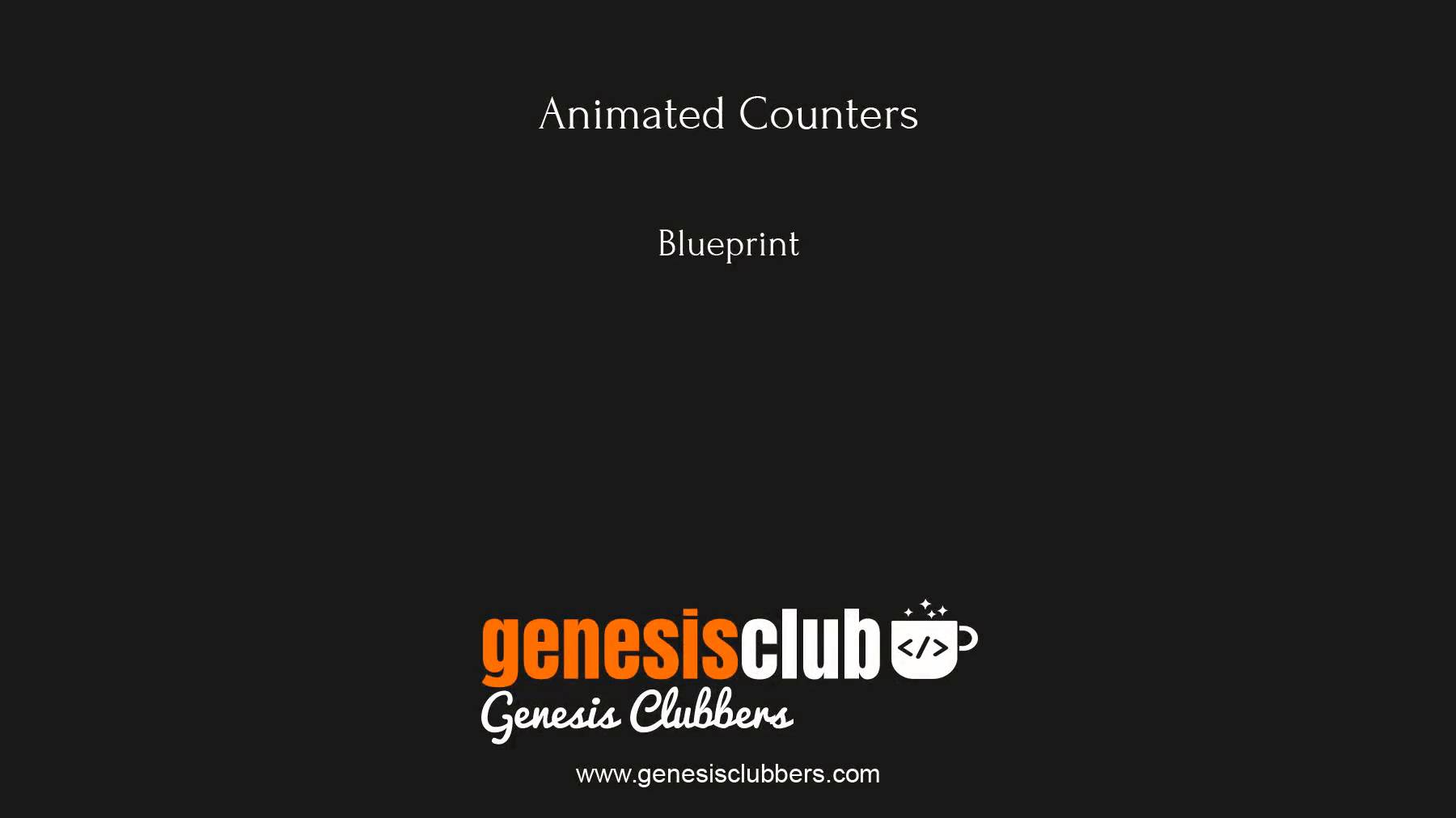 Counter animation on wordpress step by step malvernweather Image collections