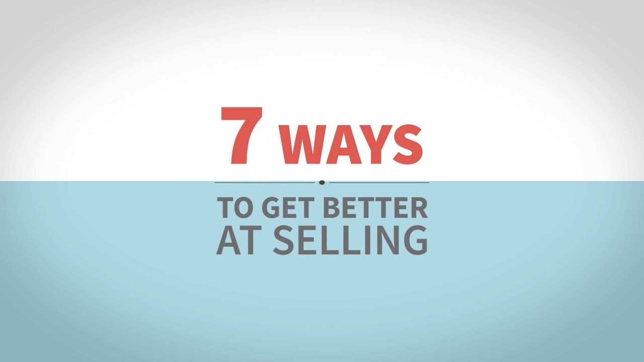 7 Ways To Get Better At Selling In A Store