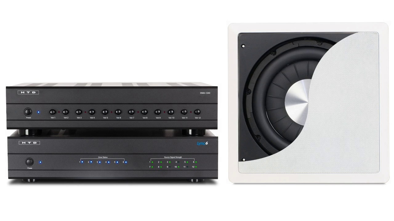 Connecting A Sub To Whole House Audio Zone Wiring Speakers In