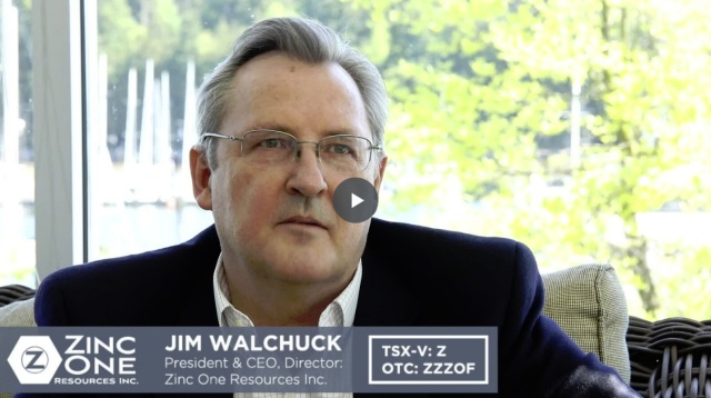 Wistia video thumbnail - Zinc One Interview with Jim Walchuck
