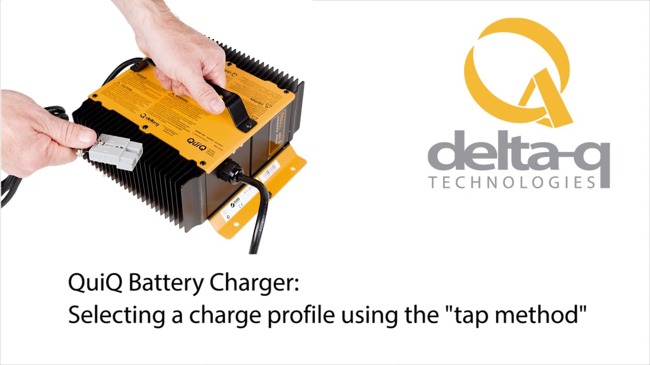 selecting a charge profile on the delta q quiq charger  delta q charger wiring diagram #11
