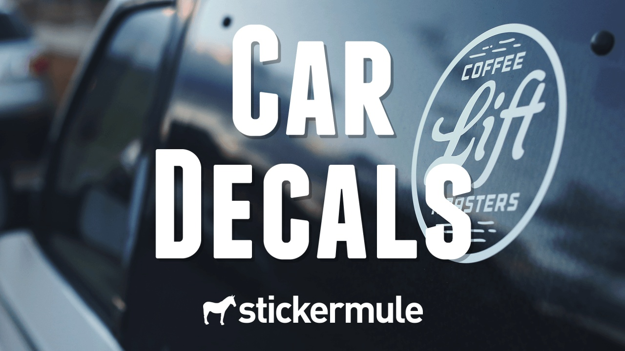 Custom car decals fast create your custom car decal online