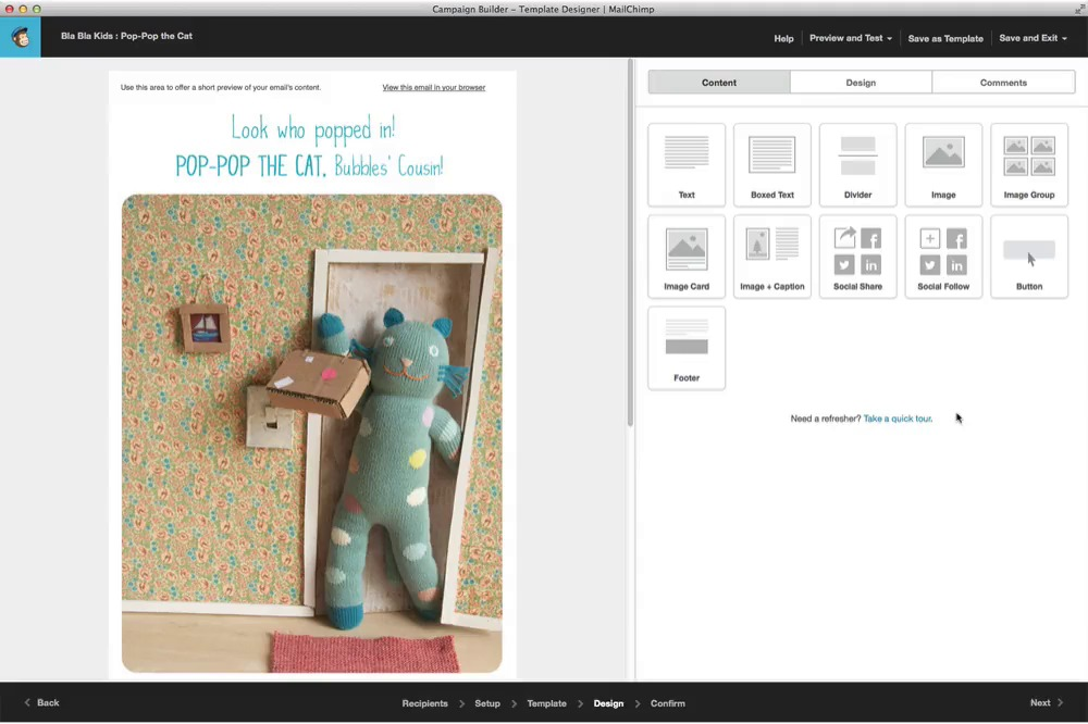 Reuse A Campaign Layout MailChimp - Mailchimp create template from campaign