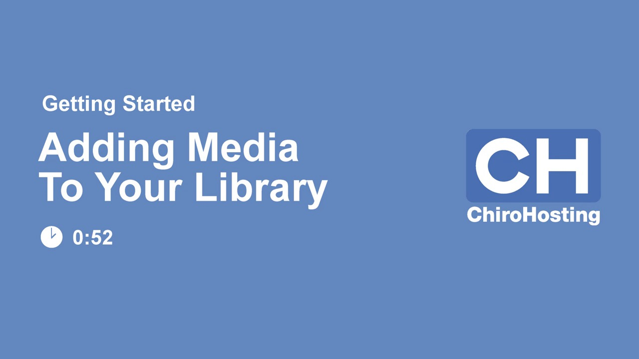 Add Media to Library