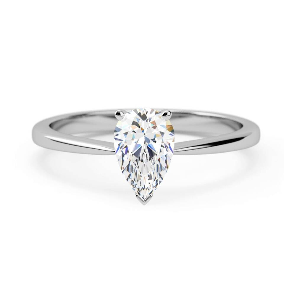 9cd30f845 Engagement Ring : attractive 6 claw solitaire round brilliant : Samara ...