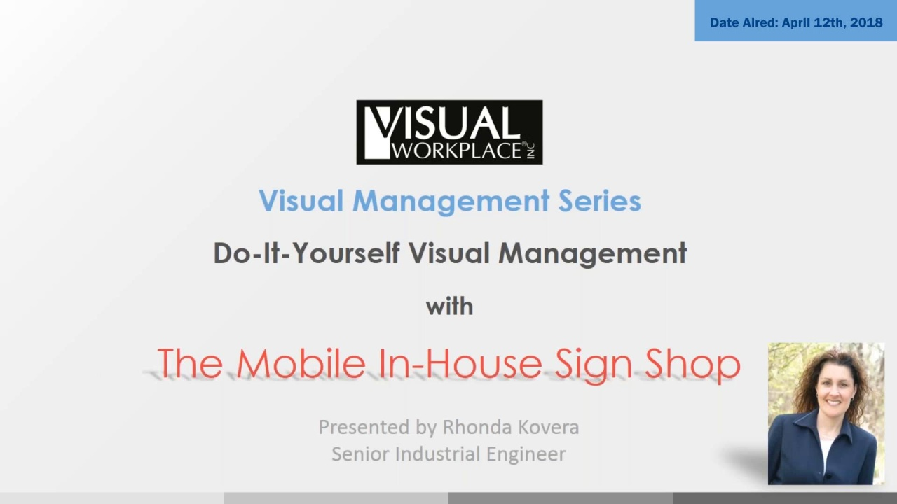 Do it yourself visual management presentation visual workplace inc do it yourself visual management solutioingenieria Image collections