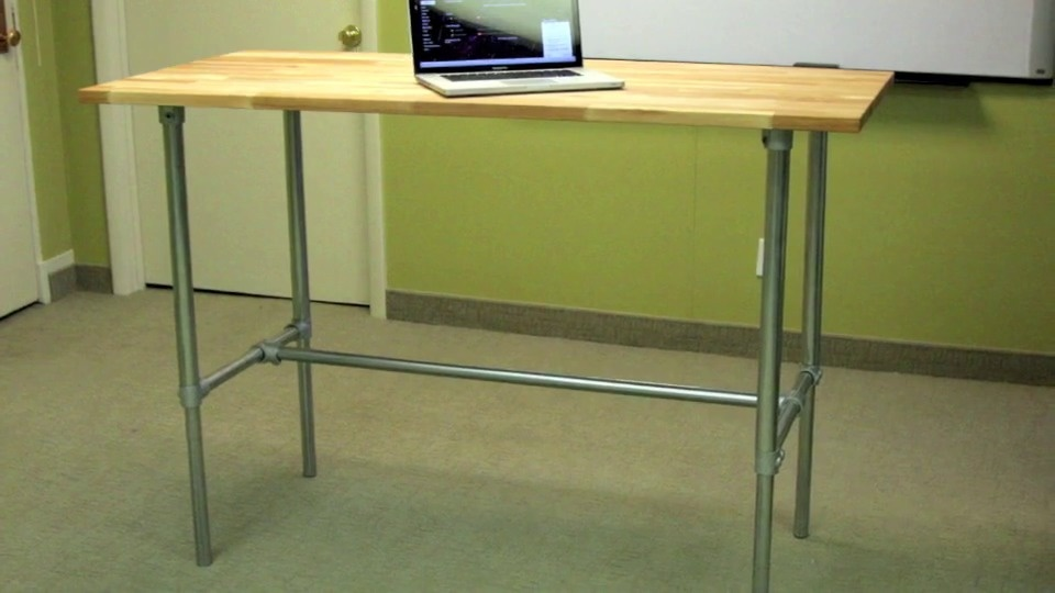 How To Build And Adjule Desk Video