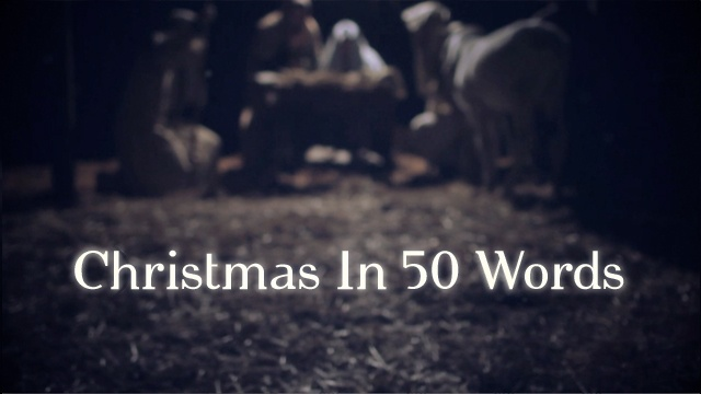 Christmas In 50 Words Video