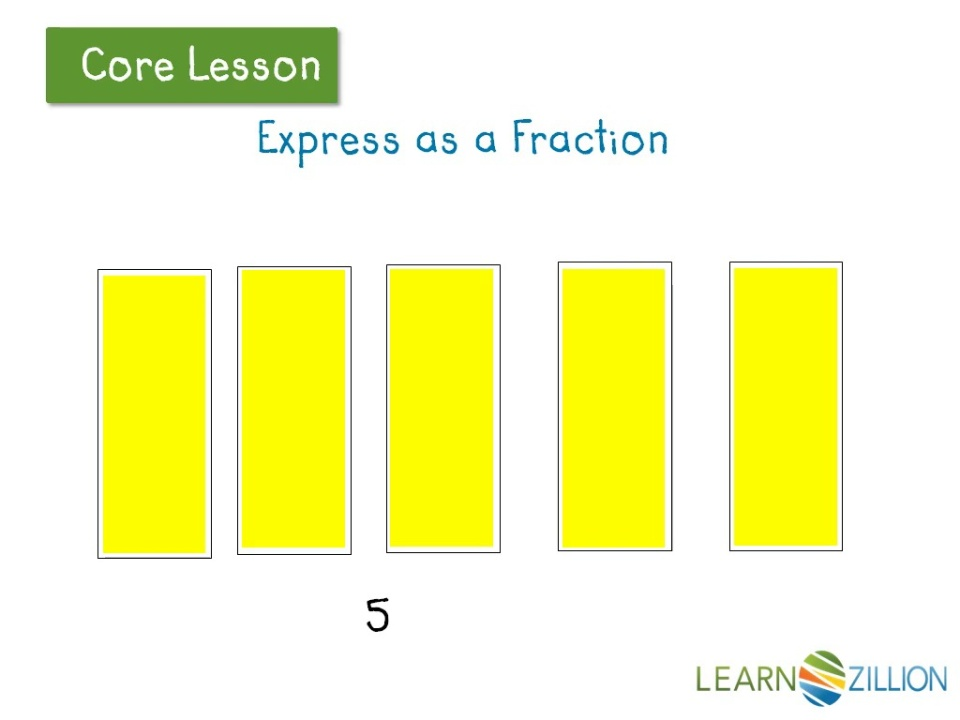 Express Whole Numbers As Fractions Learnzillion
