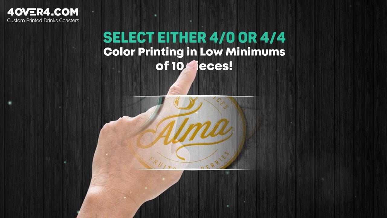 17a9eb892f3 Personalized Coasters made from ultra white premium paper, ideal for  business advertising and special occasions like weddings, engagements,  christenings, ...
