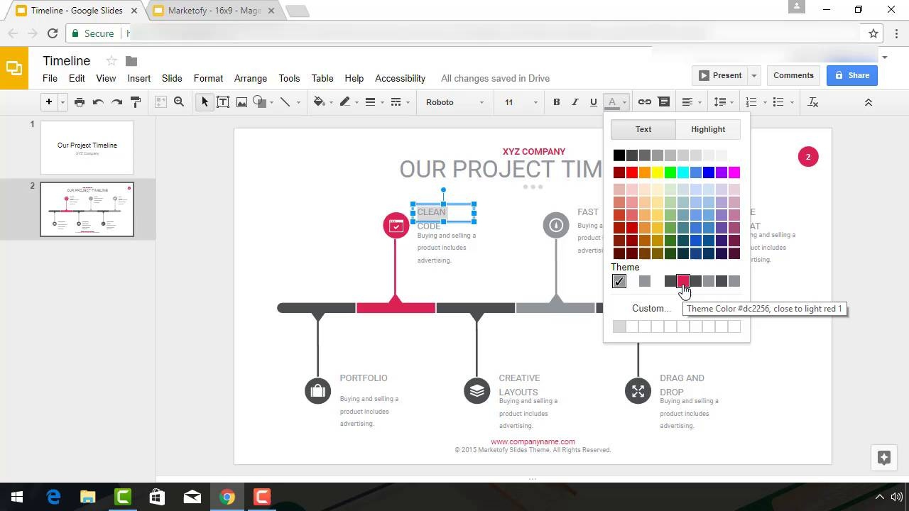 How To Make A Timeline On Google Slides With Templates - Create a timeline in google docs