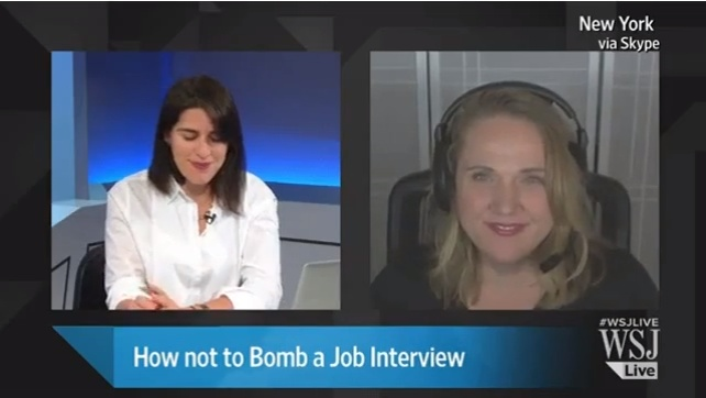 WSJ Live - How not to Bomb a Job Interview (with Pamela Skillings)