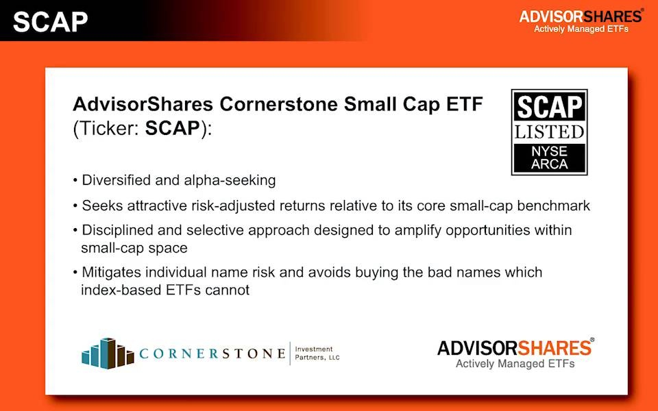 Scap Cornerstone Small Cap Etf Advisorshares