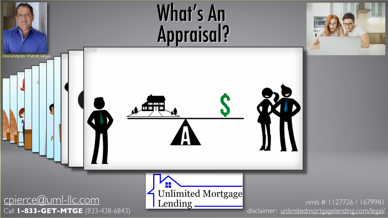 What Is An Appraisal? Unlimited Mortgage Lending
