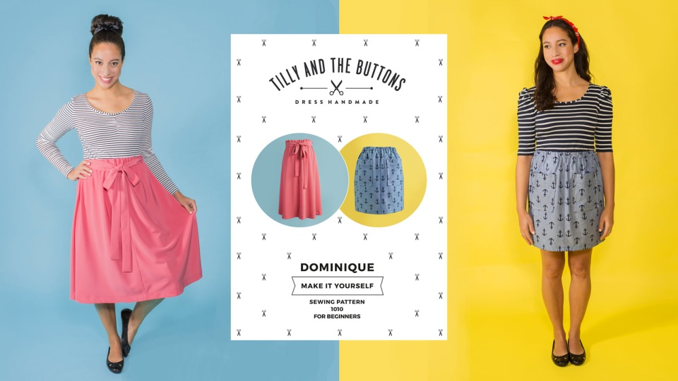 Tilly and the Buttons – online sewing workshops