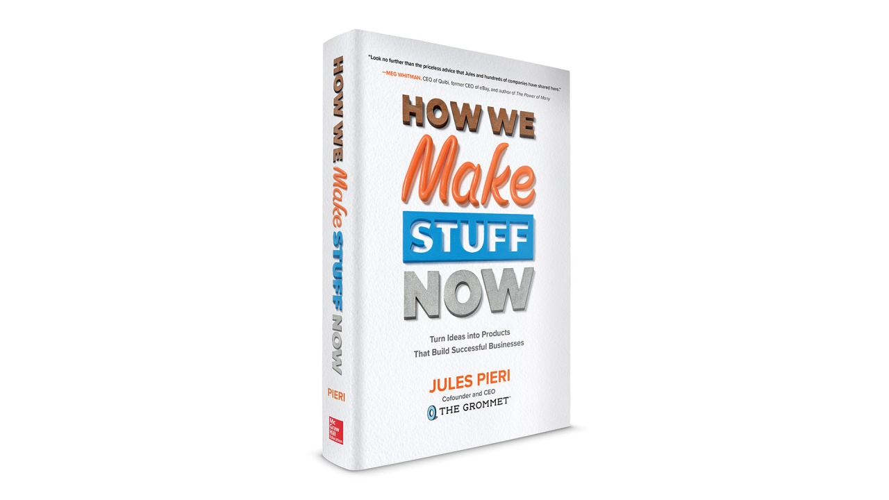Jules Pieri How We Make Stuff Now Book