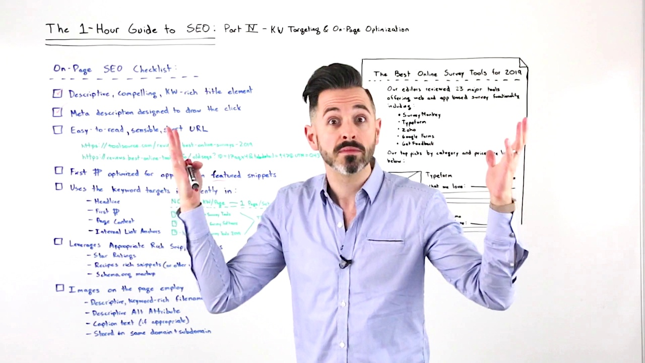 The One-Hour Guide to SEO: Keyword Targeting & On-Page