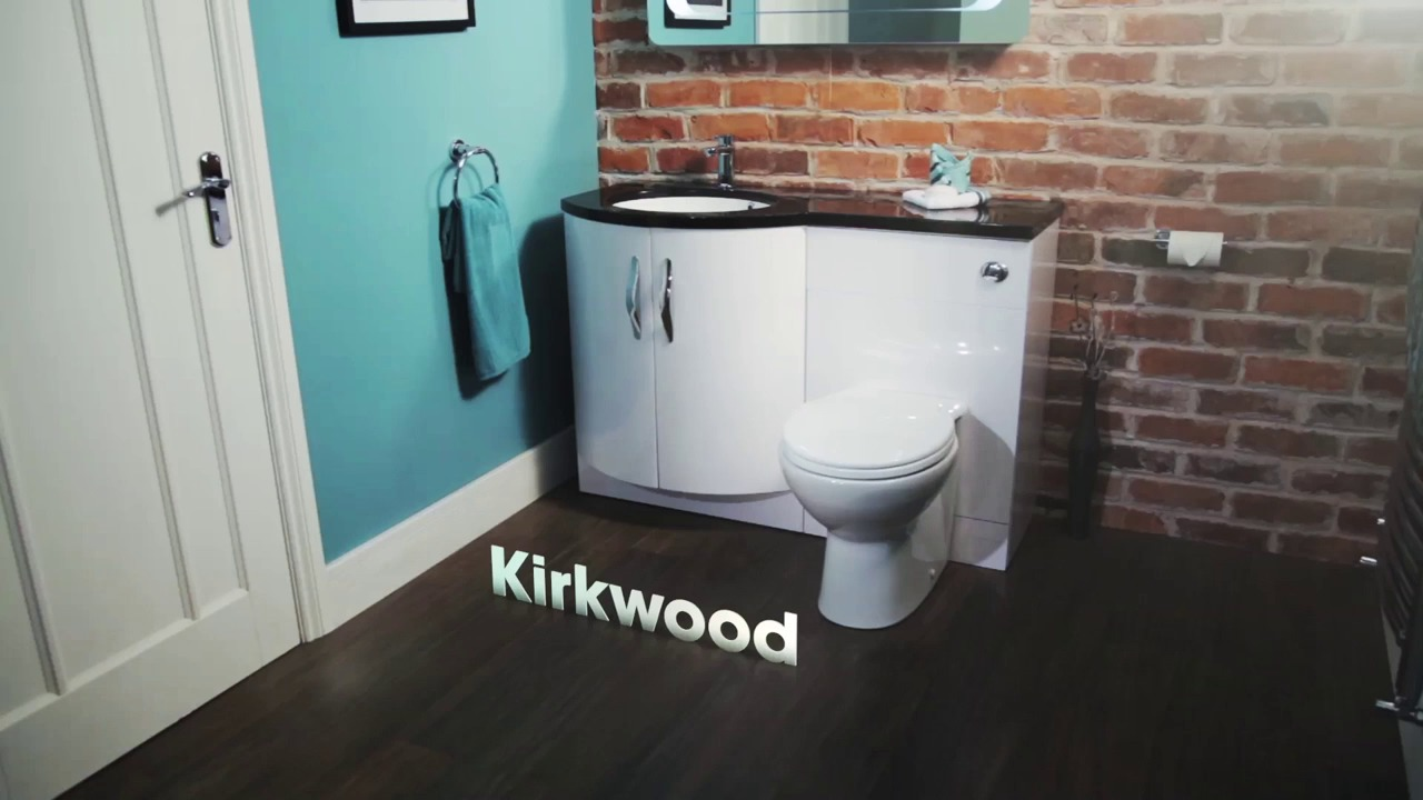 Kirkwood™ Bow Front Left Hand Combination Unit