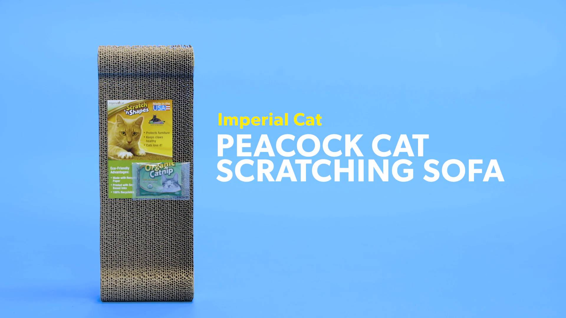 Imperial Cat Peacock Cat Scratching Sofa Chewy