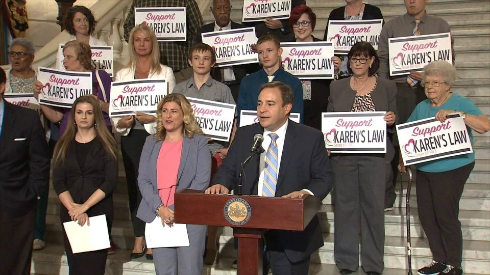 Senator Sabatina Hosts Karen's Law Rally :: June 25, 2018