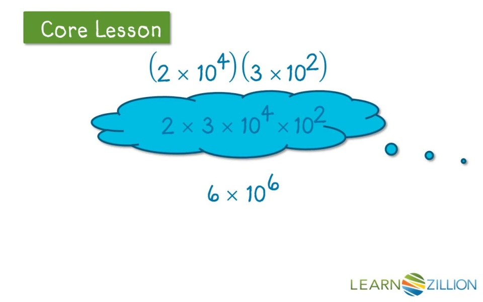Multiply Numbers In Scientific Notation Learnzillion