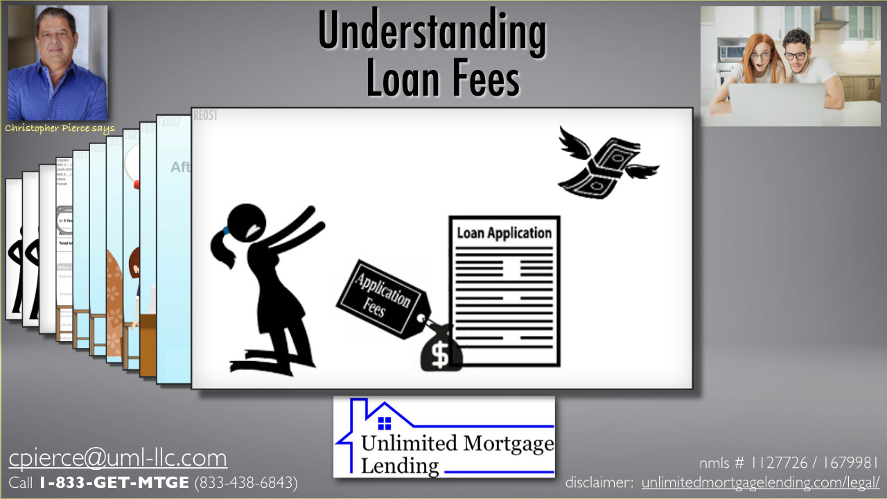 What Costs or Fees Are Associated With Loan Origination? Unlimited Mortgage Lending
