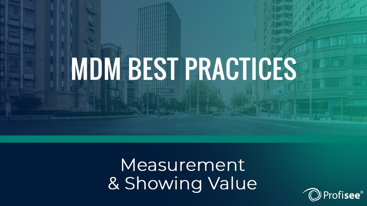 4 Mdm Best Practices The Most Successful Companies Follow